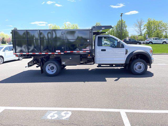 2021 Ford F-550 Regular Cab DRW 4x4, Morgan LandscaperPRO Landscape Dump #FU1321 - photo 5