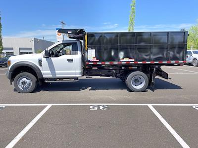 2021 Ford F-550 Regular Cab DRW 4x4, Morgan LandscaperPRO Landscape Dump #FU1321 - photo 8
