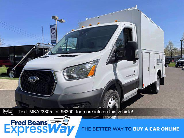 2021 Ford Transit 350 HD 4x2, Reading Service Utility Van #FU1331 - photo 1