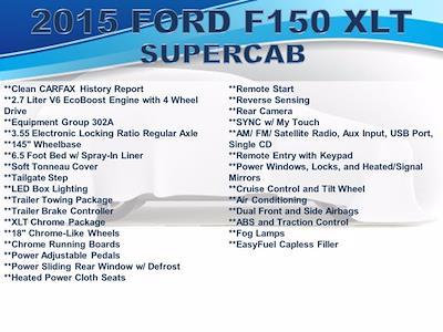 2015 Ford F-150 Super Cab 4x4, Pickup #FU13401 - photo 4