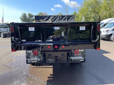 2021 F-550 Regular Cab DRW 4x4,  Rugby Eliminator LP Steel Dump Body #FU1370 - photo 6