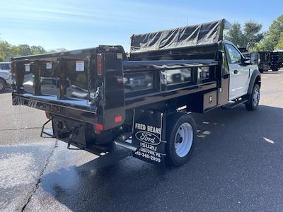 2021 F-550 Regular Cab DRW 4x4,  Rugby Eliminator LP Steel Dump Body #FU1374 - photo 5