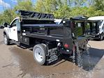 2021 F-550 Regular Cab DRW 4x4,  Rugby Eliminator LP Steel Dump Body #FU1374 - photo 2