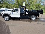 2021 F-550 Regular Cab DRW 4x4,  Rugby Eliminator LP Steel Dump Body #FU1374 - photo 7