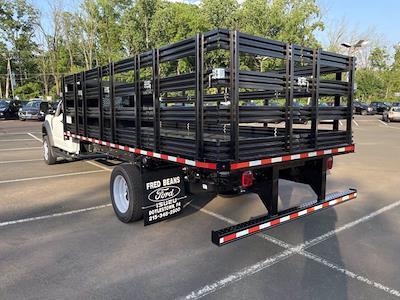 2021 F-550 Regular Cab DRW 4x2,  Morgan Truck Body Prostake Stake Bed #FU1437 - photo 2