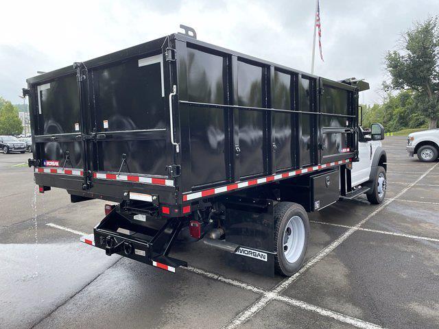 2021 F-450 Regular Cab DRW 4x4,  Morgan Truck Body Landscape Dump #FU1438 - photo 6