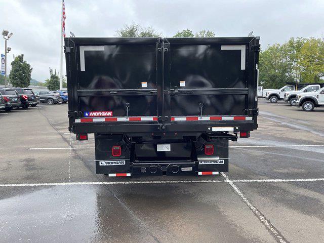 2021 F-450 Regular Cab DRW 4x4,  Morgan Truck Body Landscape Dump #FU1438 - photo 7