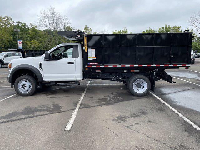 2021 F-450 Regular Cab DRW 4x4,  Morgan Truck Body Landscape Dump #FU1438 - photo 8