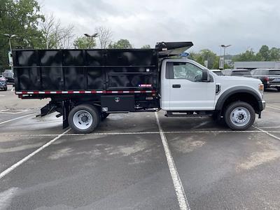 2021 F-450 Regular Cab DRW 4x4,  Morgan Truck Body Landscape Dump #FU1438 - photo 5
