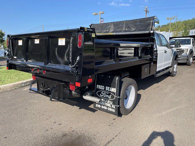 2021 F-550 Super Cab DRW 4x4,  Rugby Eliminator LP Steel Dump Body #FU1488 - photo 6