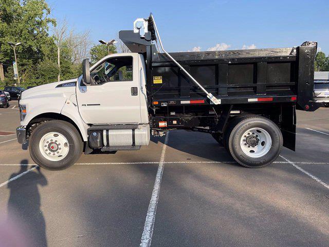 2022 F-650 Regular Cab DRW 4x2,  Godwin 300T Dump Body #FU2010 - photo 8