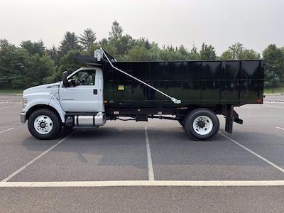 2022 F-750 Regular Cab DRW 4x2,  PJ's Truck Bodies Landscape Dump #FU2012 - photo 8