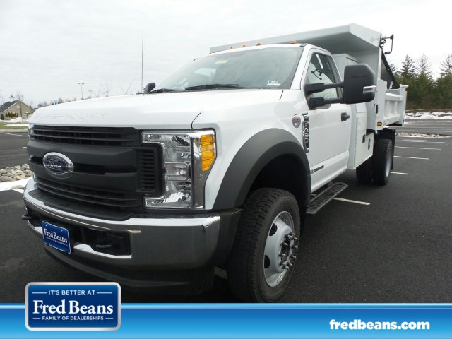 2017 F-450 Regular Cab DRW 4x4 Dump Body #FU7199 - photo 1