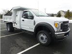 2017 F-450 Regular Cab DRW 4x4 Dump Body #FU7199 - photo 4