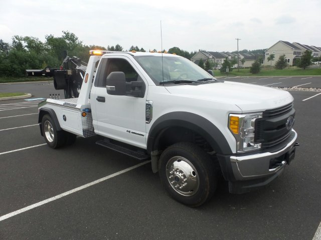 2017 F-450 Regular Cab DRW 4x4, Jerr-Dan Standard Duty Wreckers Wrecker Body #FU7207 - photo 4
