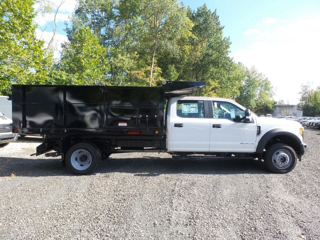2017 F-450 Crew Cab DRW 4x4,  Freedom Landscape Dump #FU7400 - photo 3