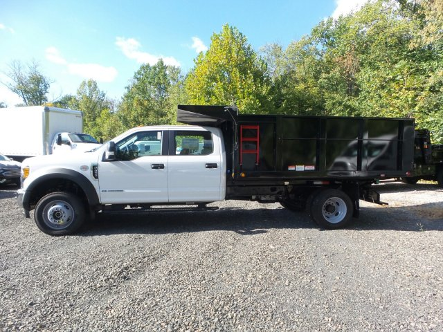 2017 F-450 Crew Cab DRW 4x4,  Freedom Landscape Dump #FU7400 - photo 5