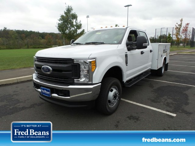 2017 F-350 Crew Cab DRW 4x4, Reading Classic II Steel Service Body #FU7423 - photo 1