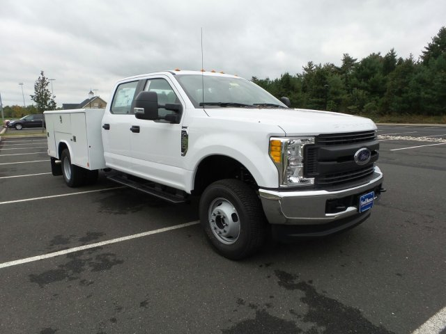 2017 F-350 Crew Cab DRW 4x4, Reading Classic II Steel Service Body #FU7423 - photo 4