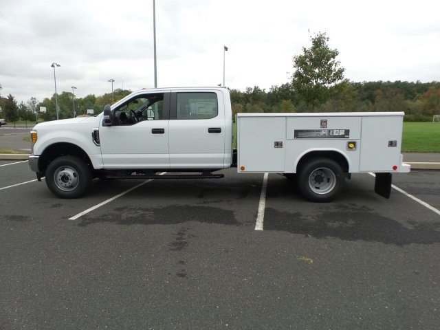 2017 F-350 Crew Cab DRW 4x4, Reading Classic II Steel Service Body #FU7423 - photo 8