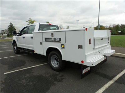 2017 F-350 Crew Cab DRW 4x4, Reading Classic II Steel Service Body #FU7423 - photo 2