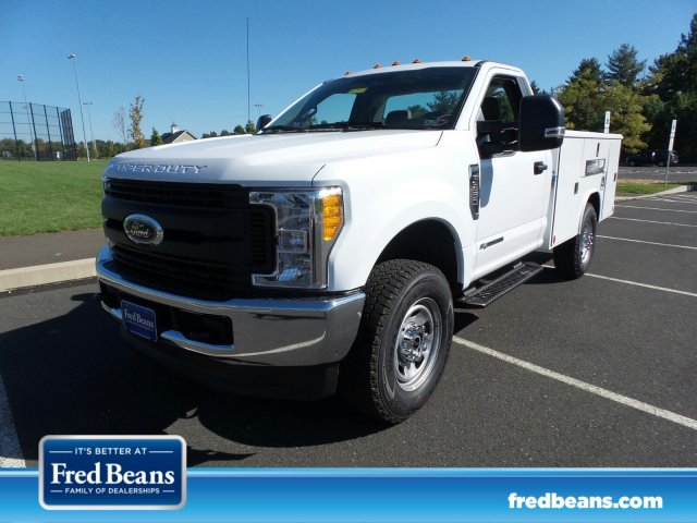 2017 F-350 Regular Cab 4x4, Reading Classic II Steel Service Body #FU7452 - photo 1