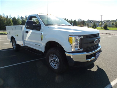 2017 F-350 Regular Cab 4x4, Reading Classic II Steel Service Body #FU7452 - photo 4