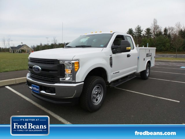2017 F-350 Super Cab 4x4, Reading Classic II Steel Service Body #FU7497 - photo 1