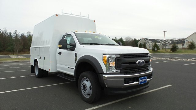 2017 F-550 Regular Cab DRW 4x4, Reading Service Utility Van #FU7515 - photo 5