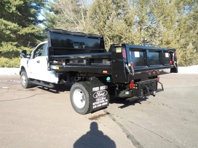 2017 F-350 Super Cab DRW 4x4,  Rugby Eliminator LP Steel Dump Body #FU7516 - photo 2