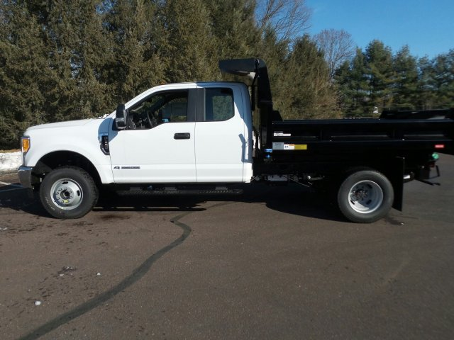 2017 F-350 Super Cab DRW 4x4,  Rugby Eliminator LP Steel Dump Body #FU7516 - photo 8