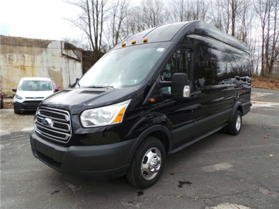 2018 Transit 350 HD High Roof DRW,  Passenger Wagon #FU8052 - photo 3