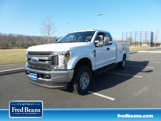 2018 F-350 Super Cab 4x4,  Reading Classic II Steel Service Body #FU8184 - photo 1