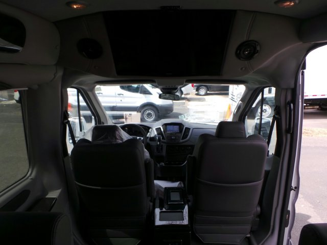2018 Transit 250 Med Roof 4x2,  Passenger Wagon #FU8193 - photo 9