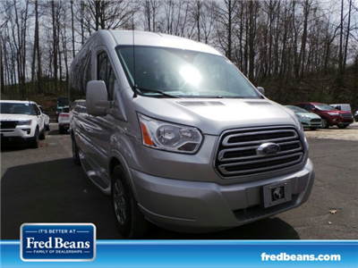 2018 Transit 250 Med Roof 4x2,  Passenger Wagon #FU8193 - photo 1