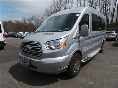 2018 Transit 250 Med Roof 4x2,  Passenger Wagon #FU8193 - photo 4