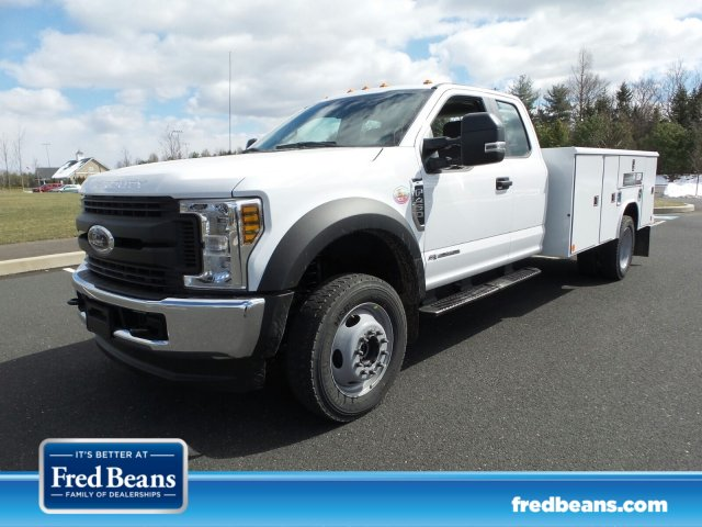 2018 F-450 Super Cab DRW 4x4, Reading Classic II Steel Service Body #FU8208 - photo 1