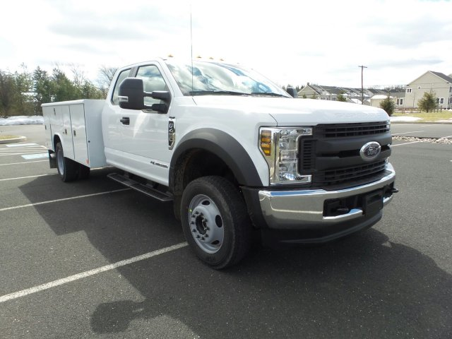 2018 F-450 Super Cab DRW 4x4, Reading Classic II Steel Service Body #FU8208 - photo 4