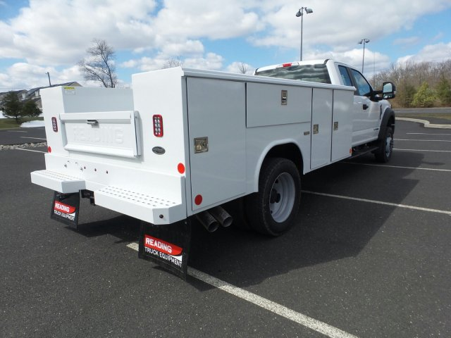 2018 F-450 Super Cab DRW 4x4, Reading Classic II Steel Service Body #FU8208 - photo 6