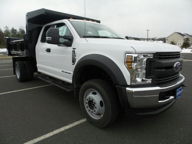 2018 F-550 Super Cab DRW 4x4,  Rugby Dump Body #FU8211 - photo 4