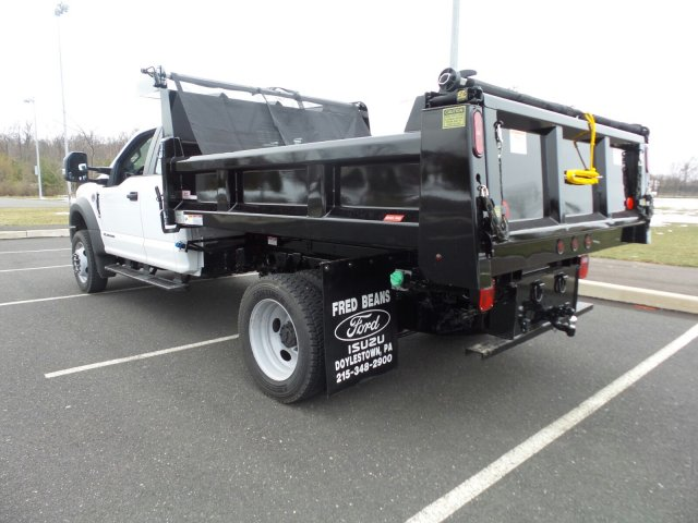 2018 F-550 Super Cab DRW 4x4,  Rugby Dump Body #FU8211 - photo 2