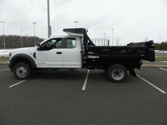 2018 F-550 Super Cab DRW 4x4,  Rugby Dump Body #FU8211 - photo 8