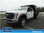 2018 F-550 Super Cab DRW 4x4,  Rugby Dump Body #FU8211 - photo 1