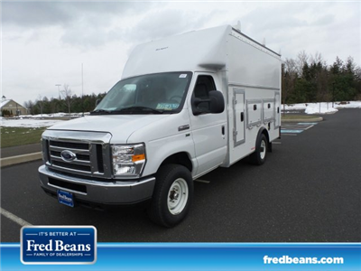 2018 E-350 4x2,  Rockport Workport Service Utility Van #FU8229 - photo 1