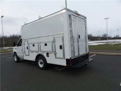 2018 E-350 4x2,  Rockport Workport Service Utility Van #FU8229 - photo 2