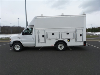 2018 E-350 4x2,  Rockport Workport Service Utility Van #FU8229 - photo 8