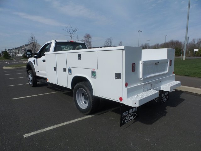 2018 F-450 Regular Cab DRW 4x2,  Reading Classic II Steel Service Body #FU8239 - photo 2
