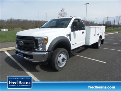 2018 F-450 Regular Cab DRW 4x2,  Reading Classic II Steel Service Body #FU8239 - photo 1