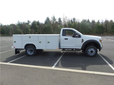 2018 F-450 Regular Cab DRW 4x2,  Reading Classic II Steel Service Body #FU8239 - photo 5