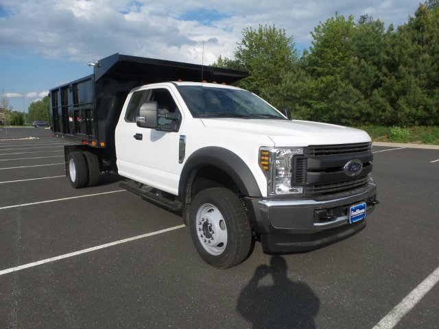2018 F-550 Super Cab DRW 4x4,  Freedom Canyon Landscape Dump #FU8255 - photo 4